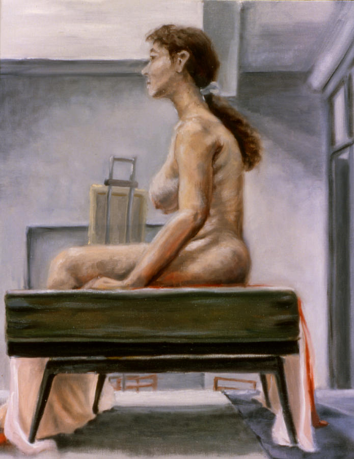Woman Painting - Still by John Clum