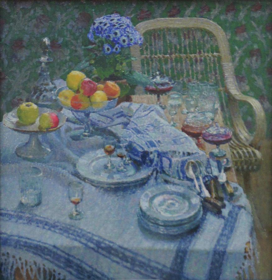 Russian Impressionism Painting - Still Life by Igor Grabar