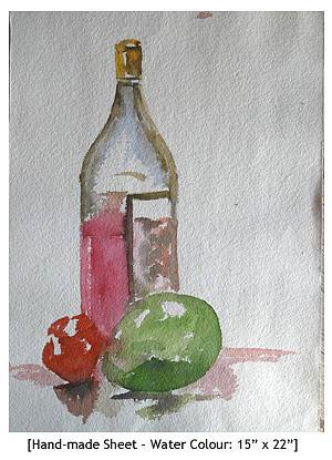 Still Life Painting - Still Life - 2 by Abin Raj