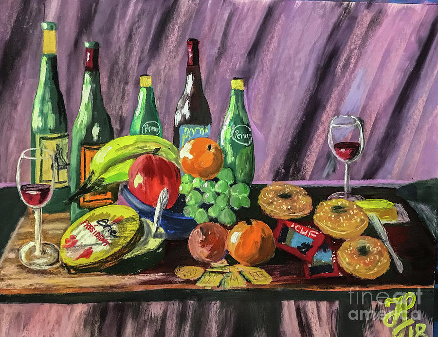 still life #2 by Francois Lamothe