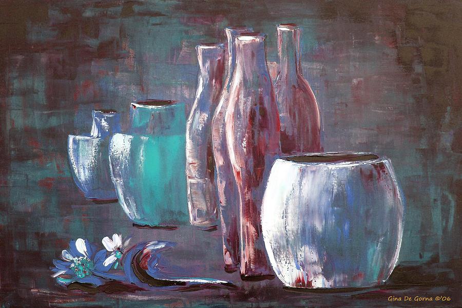 Still Painting - Still Life 2 by Gina De Gorna