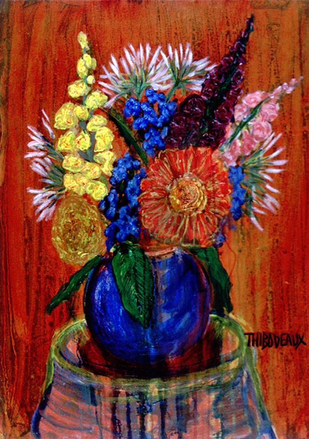 Still Life Painting - Still Life  20 by Don Thibodeaux