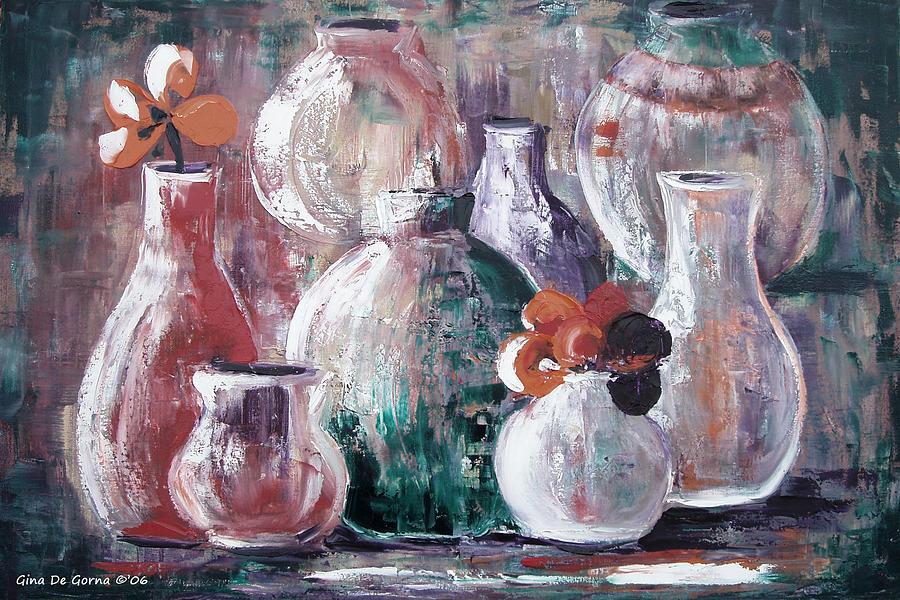 Still Life Painting - Still Life 3 by Gina De Gorna