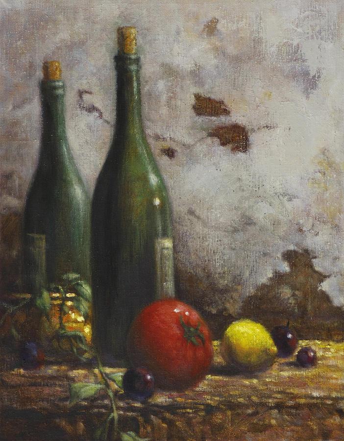Still Life Painting - Still Life 3 by Harvie Brown