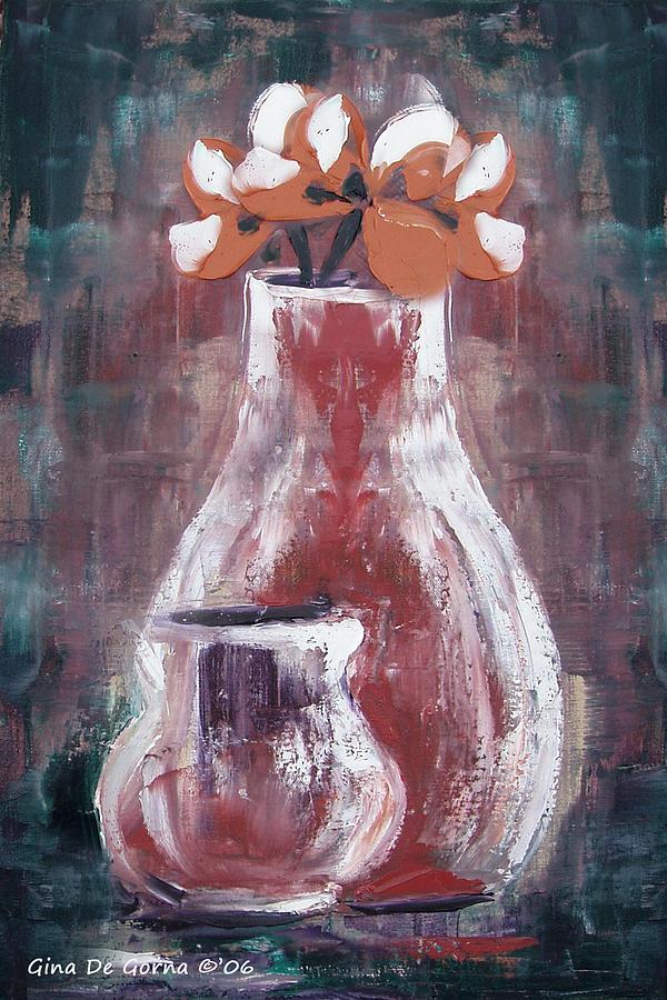 Still Life Painting - Still Life 4 by Gina De Gorna