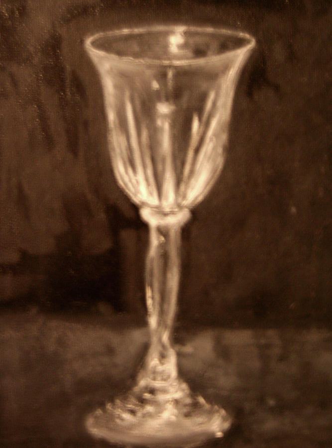 Glass Painting - Still Life 4 by James Rickard
