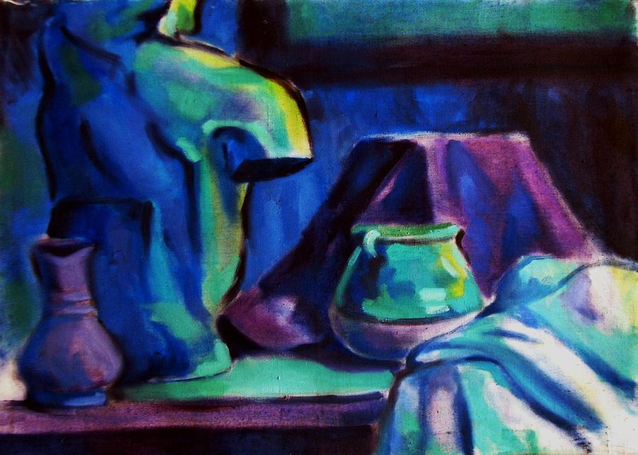 Still Life Painting - Still Life 4 by Mehrdad Sedghi