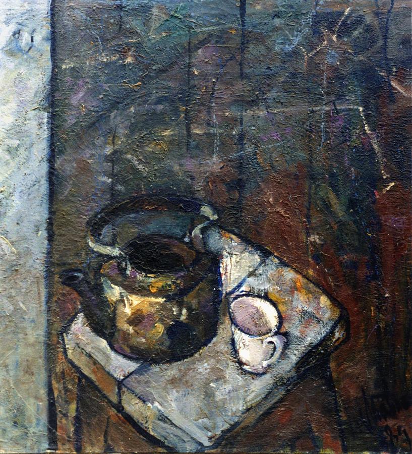 Still Life Painting - Still Life 4 by Valeriy Mavlo
