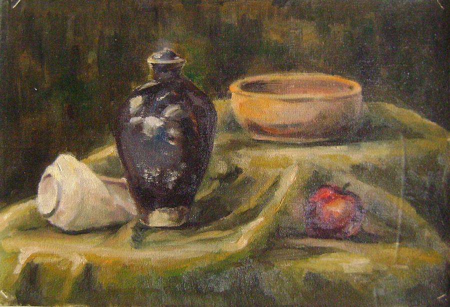 Still Life Painting - Still Life 6 by Mehrdad Sedghi