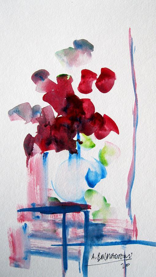 Still Painting - Still Life by Bel Madani