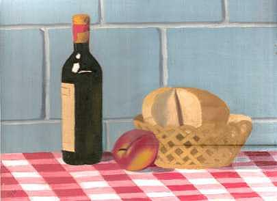 Still Life Painting - Still Life by B-joan  Harte