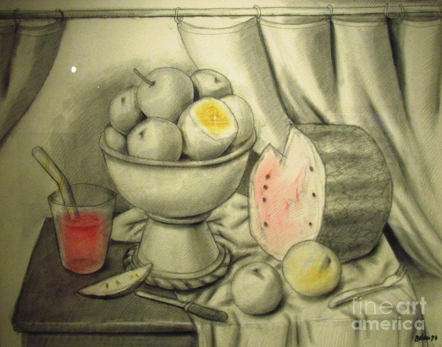 still life Botero  by Ted Pollard