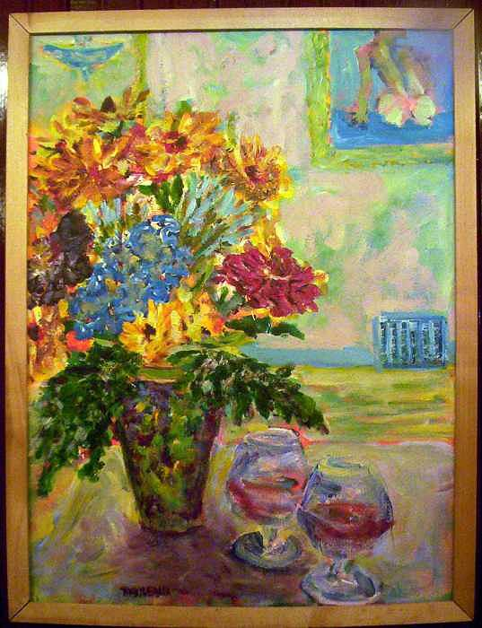 Still Life Painting by Don Thibodeaux