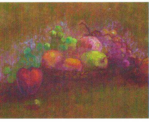 Still-life Fruit Painting by Martha Sterling Stroman