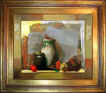 Artist Painting - Still Life II by Boro Ivetic
