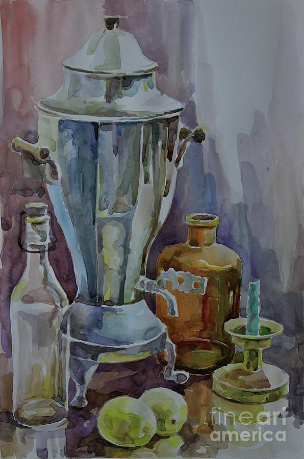 Still Life Painting - Still Life II by Nedko  Nedkov