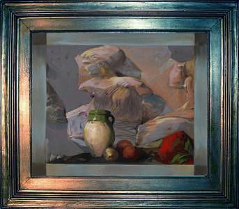 Artist Painting - Still Life IV by Boro Ivetic