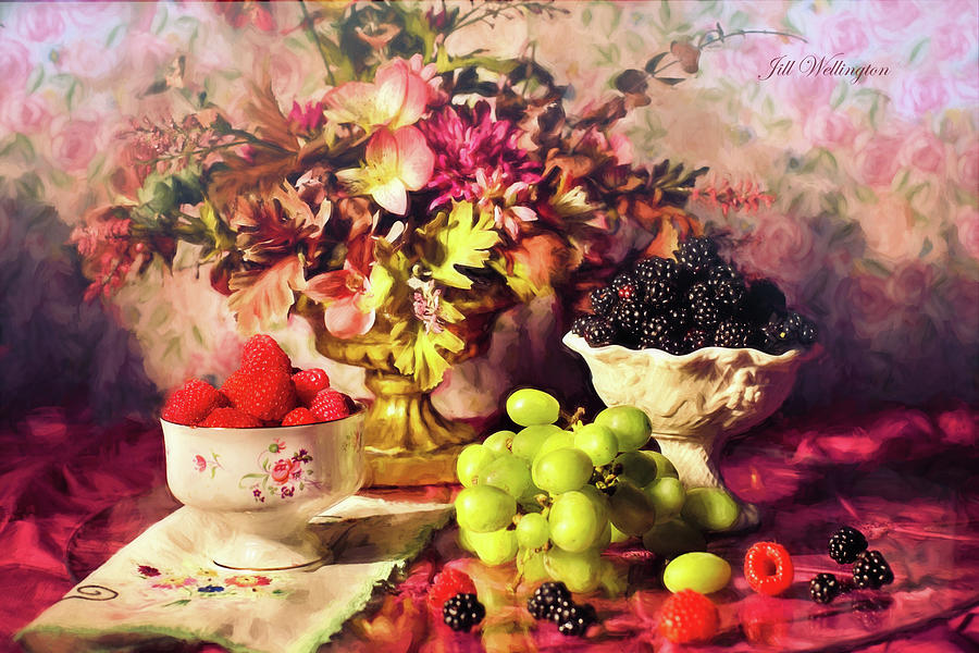 Still Life by Jill Wellington