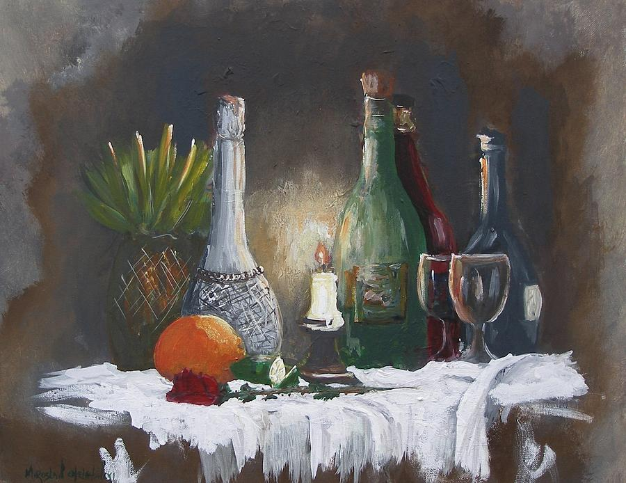 still life by Miroslaw  Chelchowski
