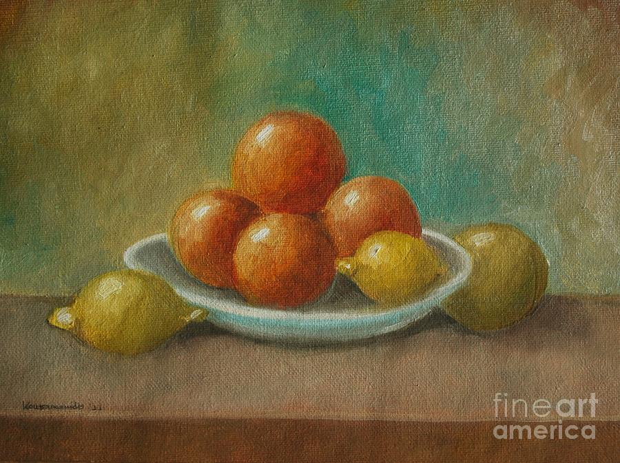 Still Life Painting - Still Life No-6 by Kostas Koutsoukanidis
