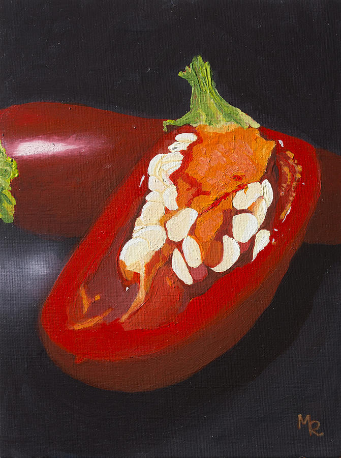 Still Life No. VII, Chili Peppers by Mike Robles