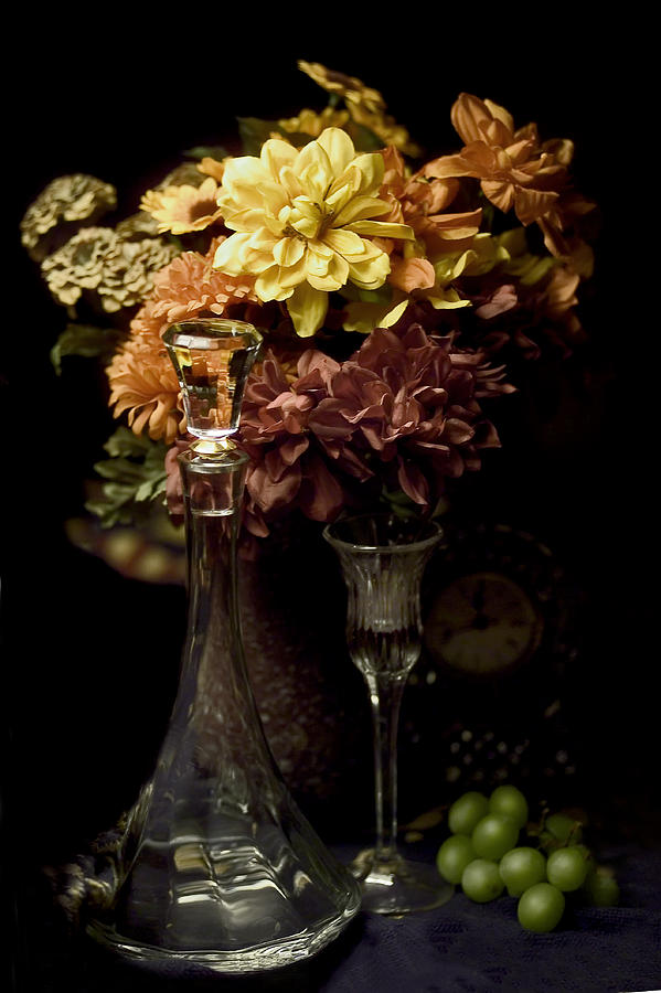Flowers Photograph - Still Life by Pat Carosone