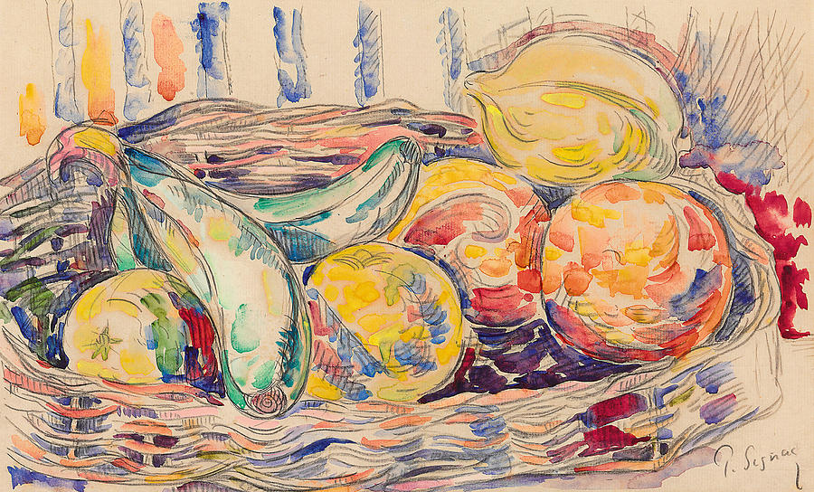 Still Life Painting - Still Life  by Paul Signac