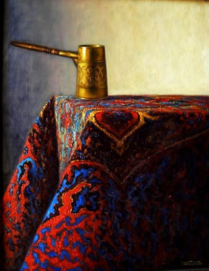 Still Life R Painting by Alaoui atlas Hassan