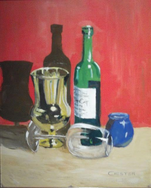 Still Life Shadows by Francis Chester
