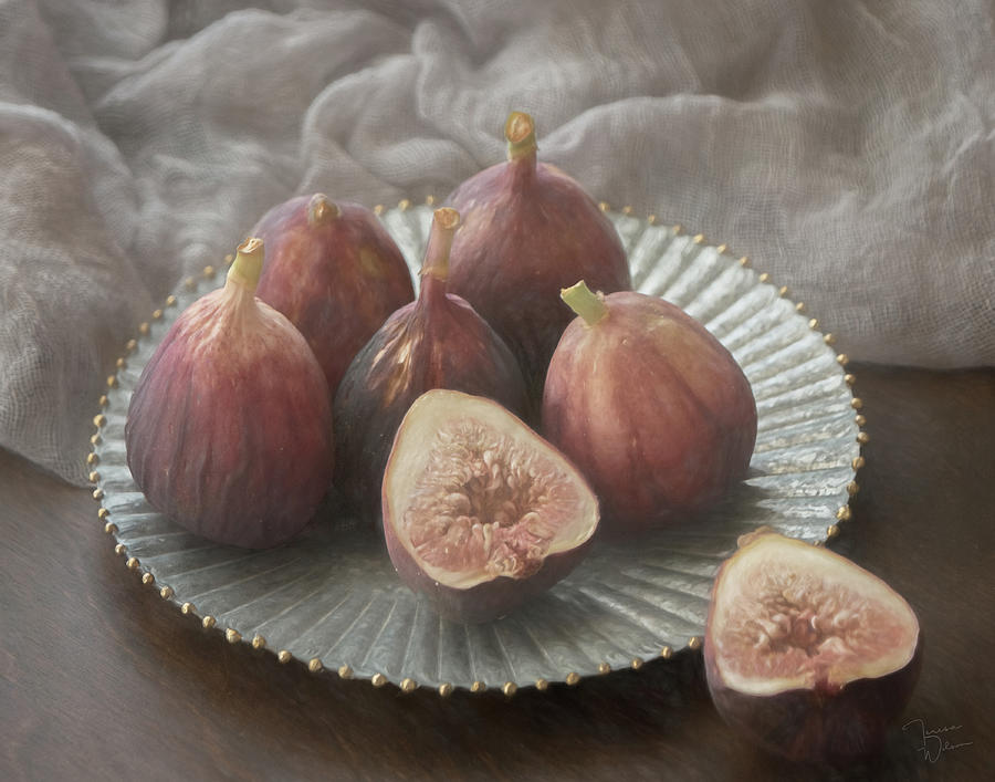 Still Life With Figs 0160 Photograph