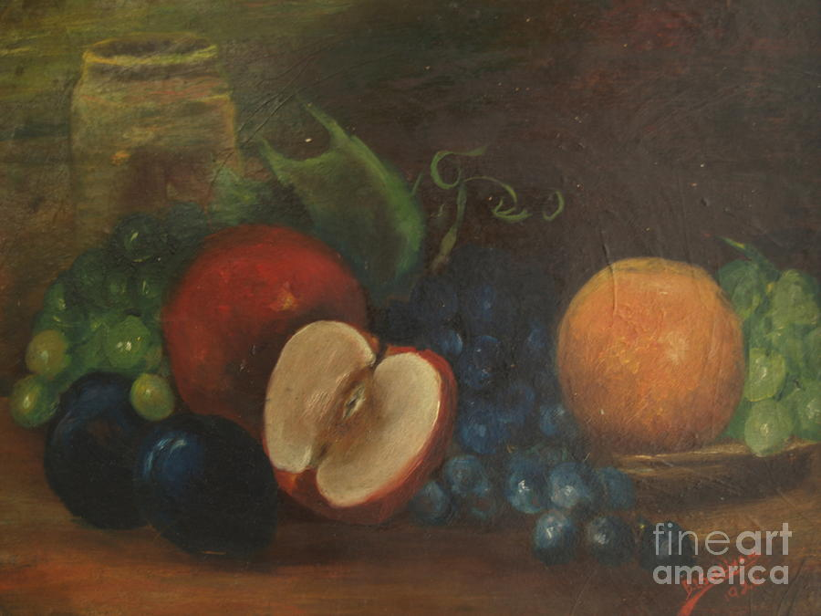 Still Life With Fruit - 1920, by Bertha L. Sullivan by Paul Galante