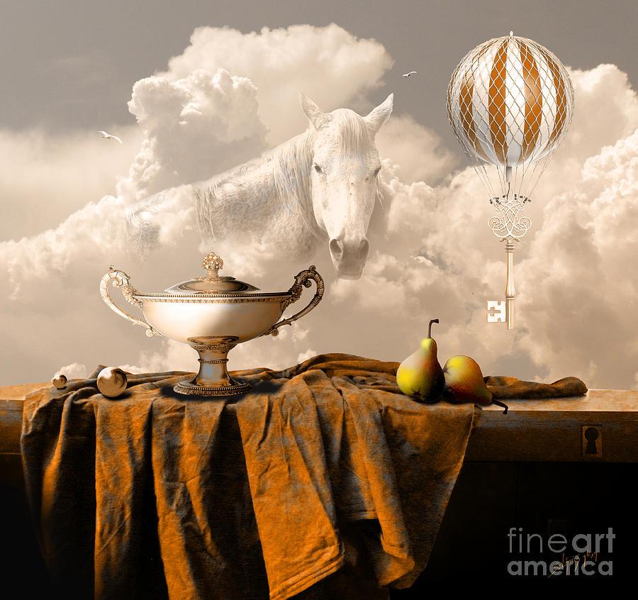 Still Life with Pears by Alexa Szlavics