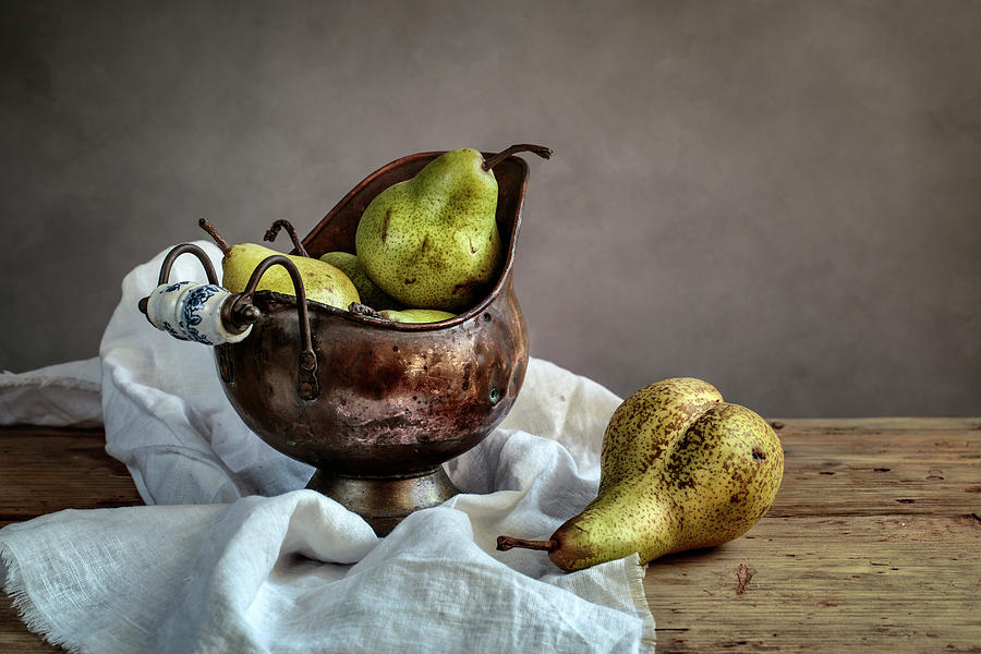 Still-life With Pears Photograph