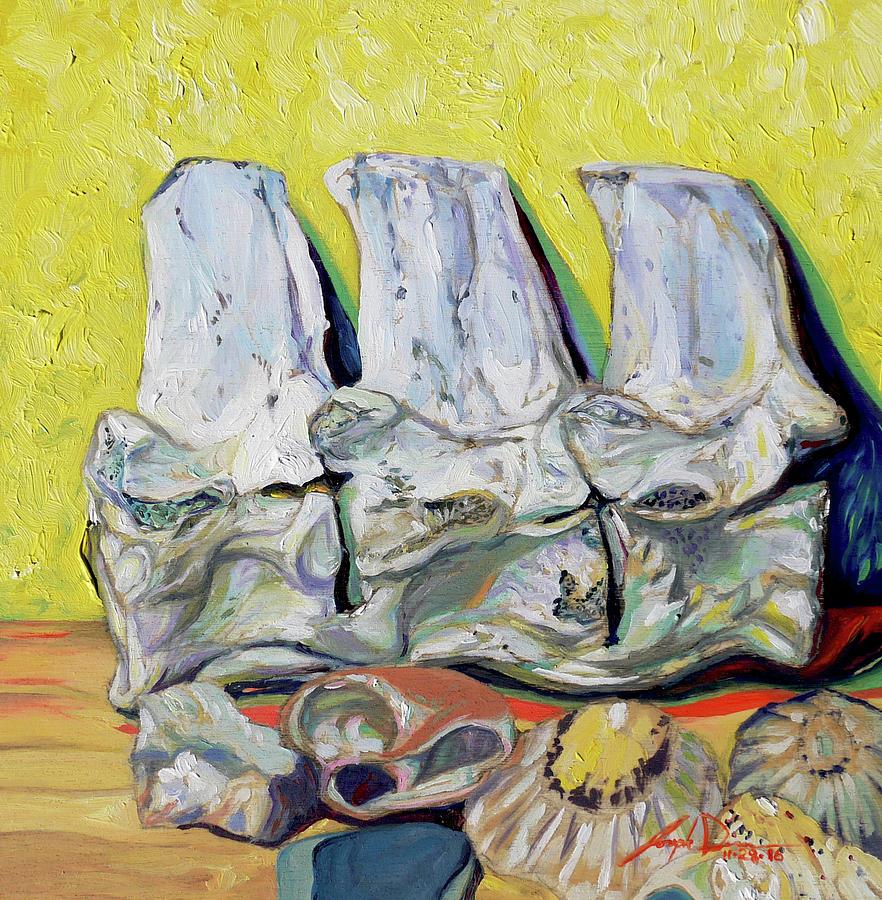 Still Life Painting - Still Life of Treasures by Joseph Demaree
