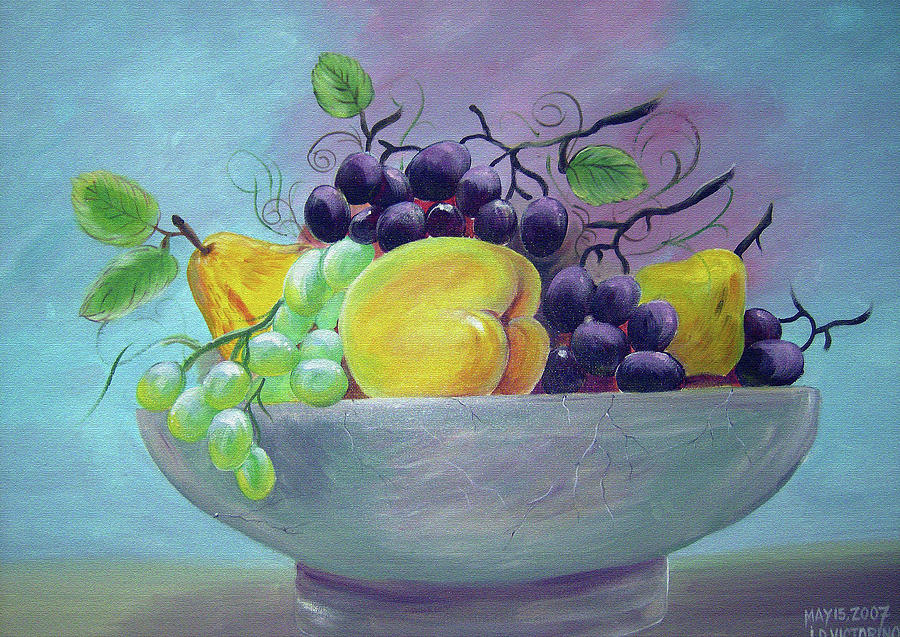 Still Life1 Painting by Joey Victorino