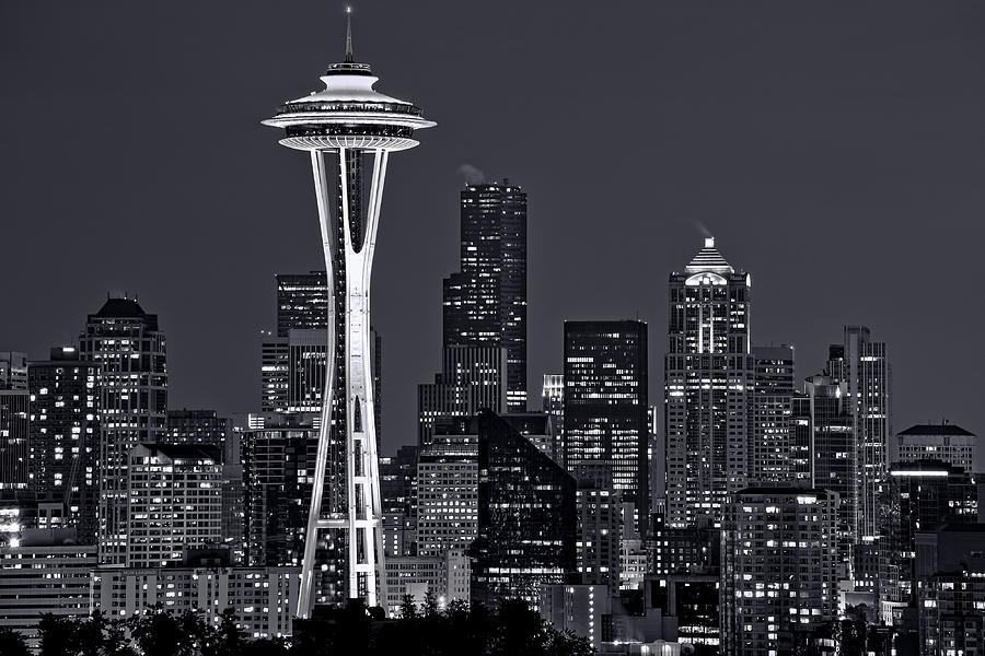 Seattle Photograph - Still Of The Night by Dan Mihai