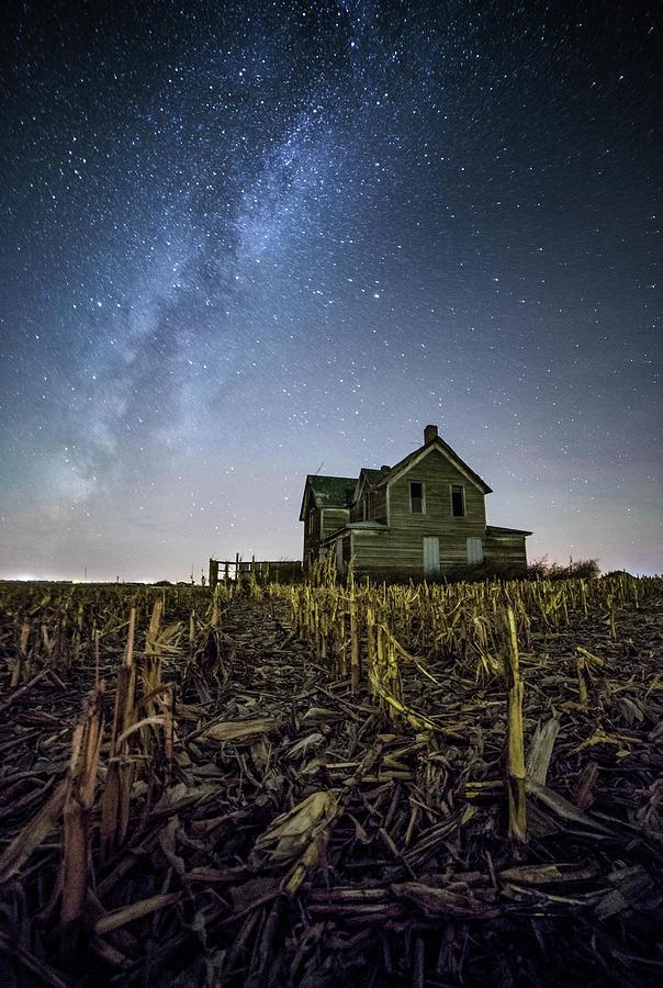 Sky Photograph - Still Standing  by Aaron J Groen
