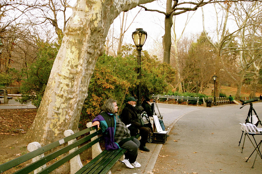 Still Waiting In Central Park Photograph