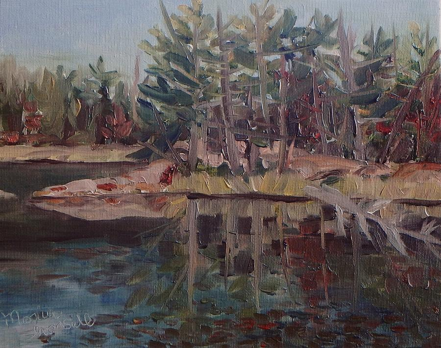 Landscape Painting - Still Waters In Killarney by Monica Ironside