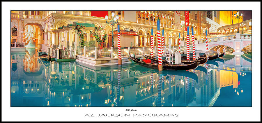 Las Vegas Photograph - Still Waters Poster Print by Az Jackson