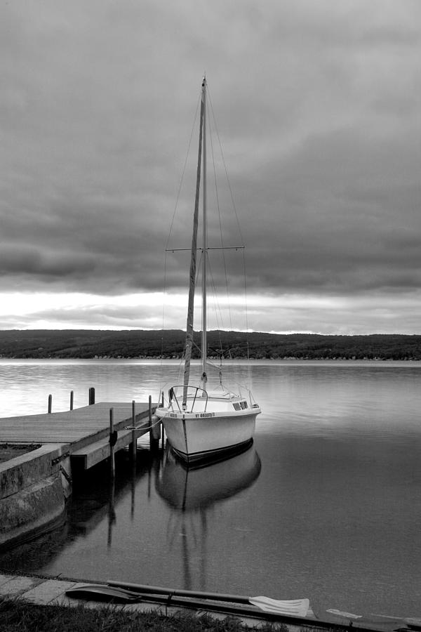 Sailboat Photograph - Still Waters by Steven Ainsworth