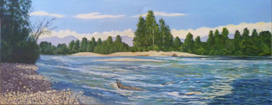 Stillaguamish River by Stan Chraminski