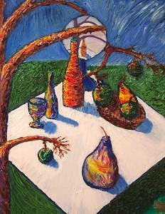 Stilllife IB Painting by Ira Stark