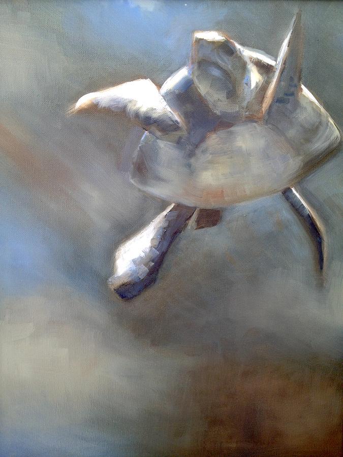 Stillness Painting by Cynthia Mozingo