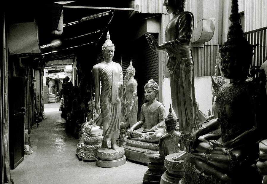 Stillness Of The Bangkok Buddhas by Shaun Higson