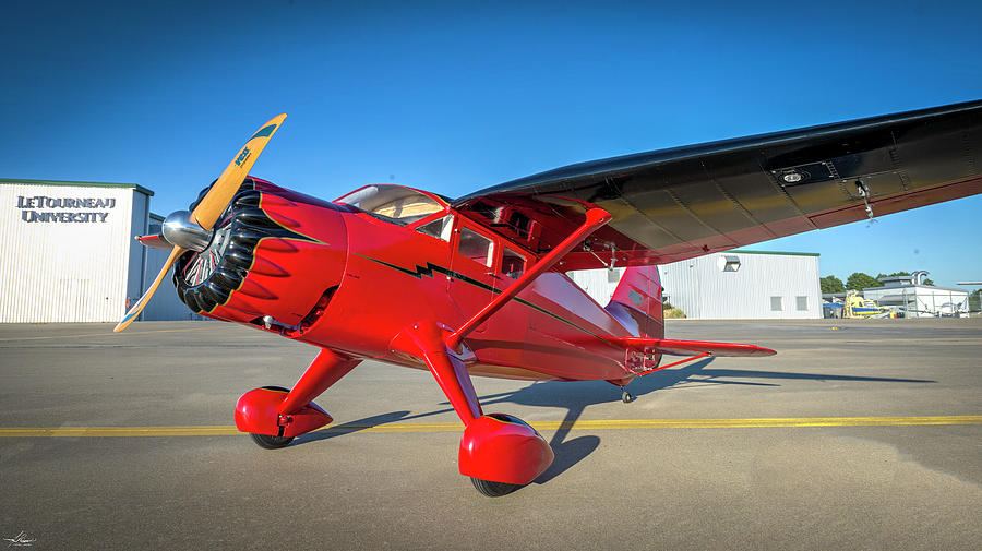Aac Photograph - Stinson Reliant Rc Model 03 by Philip Rispin
