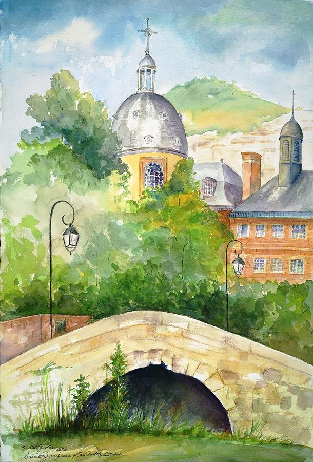 France Painting - St.jacques, Les Andelys, France by Constance Fisher