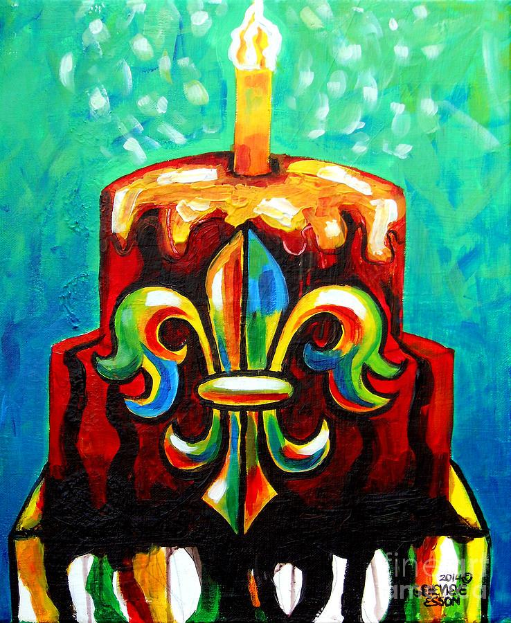 Birthday Cake Paintings Page 2 of 12 Fine Art America