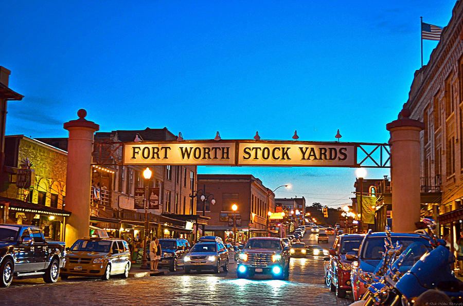 Fort Worth Photograph - Stock Yards by Dado Molina