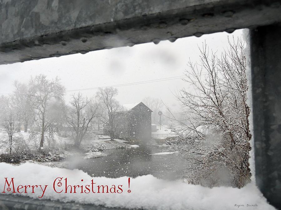 Water Photograph - Stockdale Christmas by Regine Brindle
